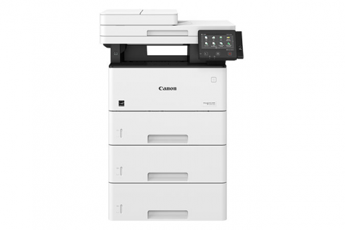 Canon imageCLASS MF525dw front with 3 drawers